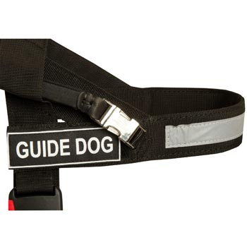 Samoyed Nylon Assistance Harness with Patches